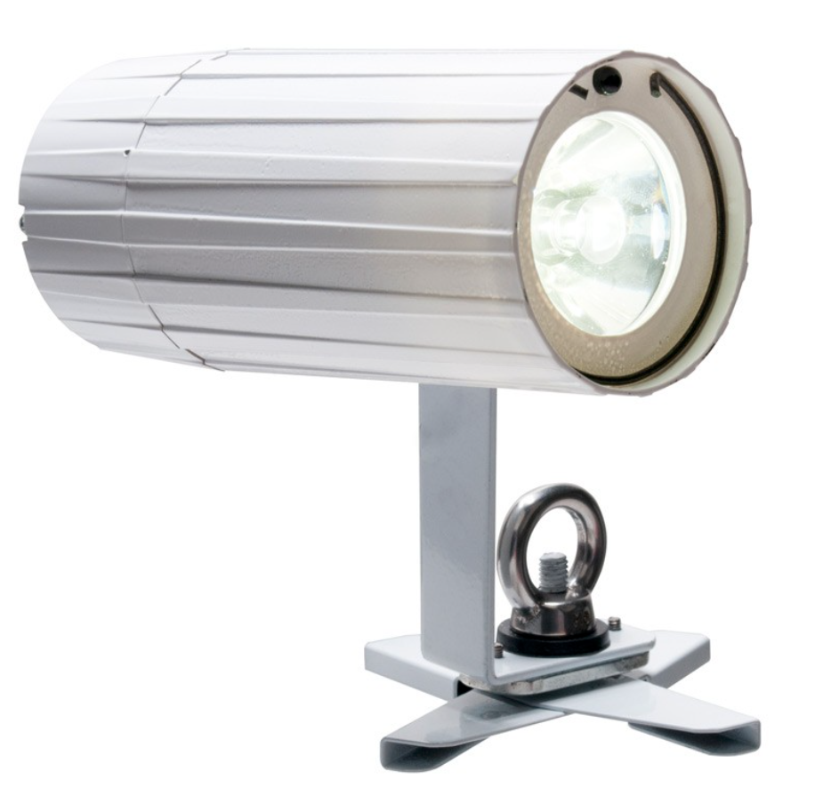 ADJ PIN POINT 2 GO - The ADJ PinPoint Go WW Plus is battery powered pinspot powered by a 3W warm white LED (2700K). It includes a magnet and X-CLIP for attaching to metal, 4 color gels and a frost filter to expand the beam angle.