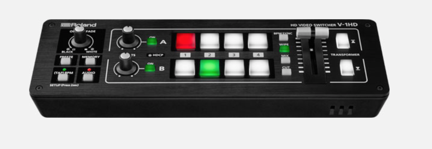 ROLAND V1 HD - 4 CHANNEL 1080P VIDEO SWITCHER