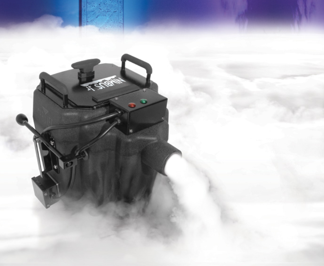 DRY ICE GROUND FOG MACHINES -