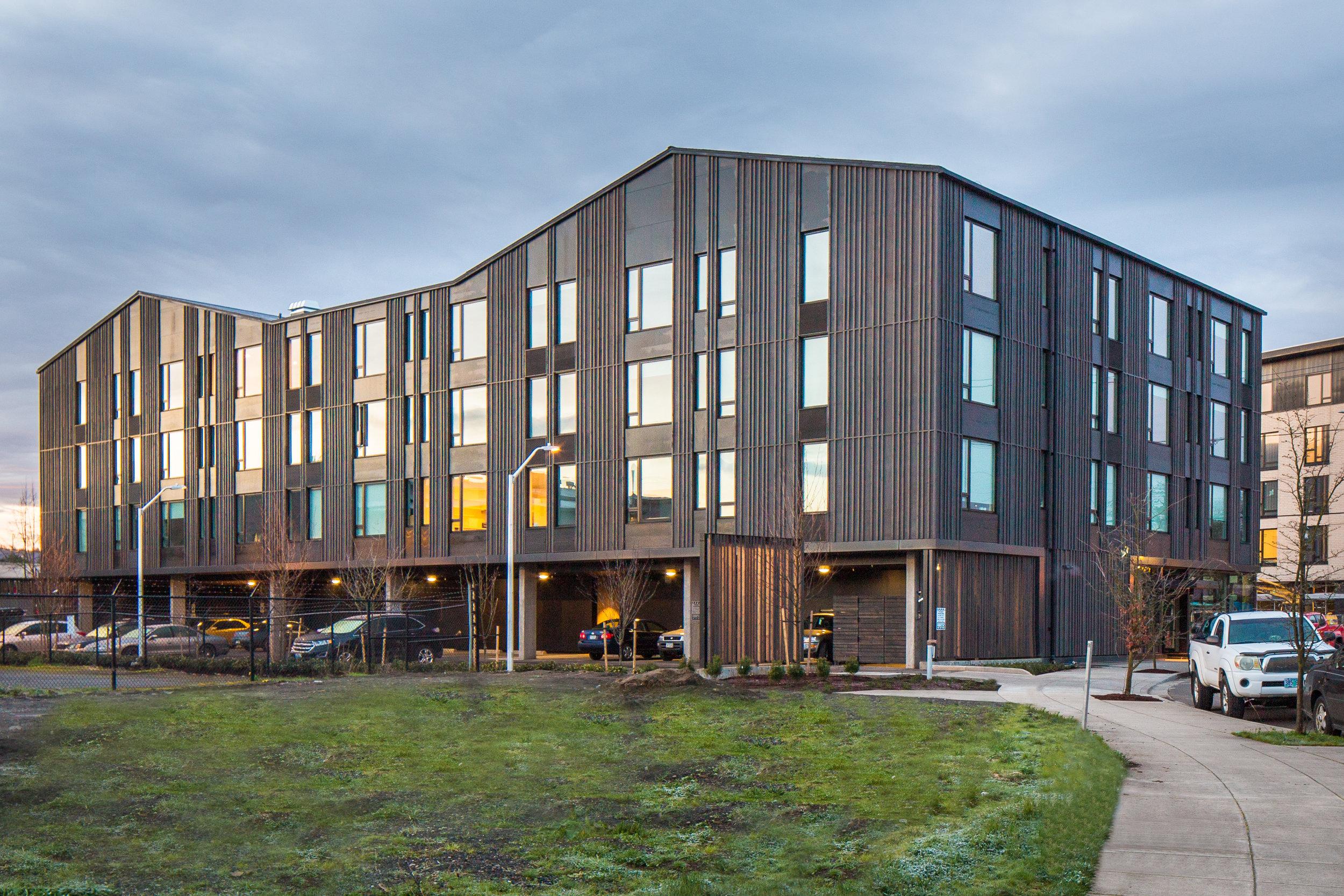 Lents Common Portland Development CommissionProsper Portland Architectural Photographer Joshua Huff