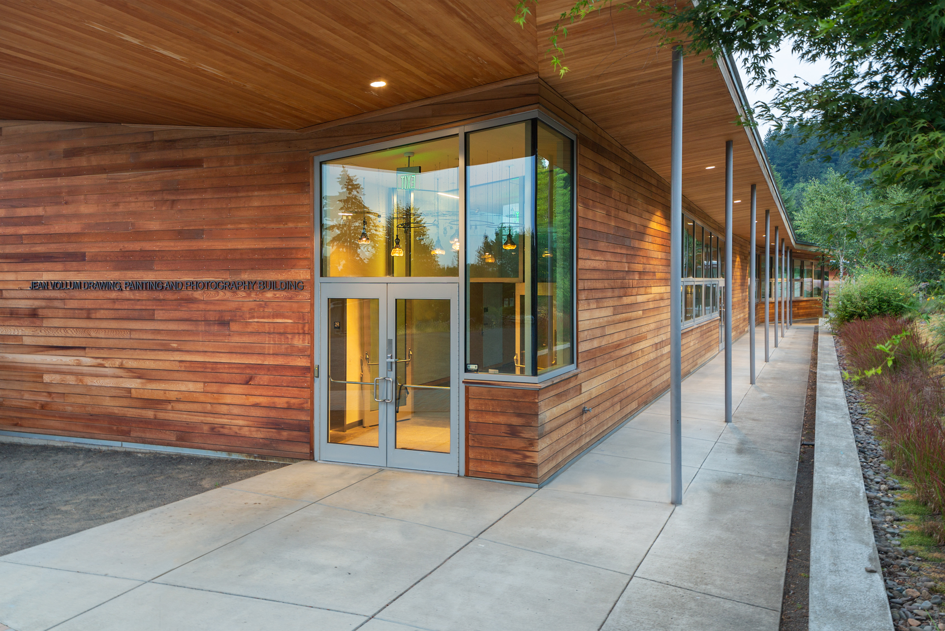 Oregon School of Arts & Crafts expanded campus. Designed by architect  John Storrs  in 1978.  Photographed by Joshua James Huff August 2018