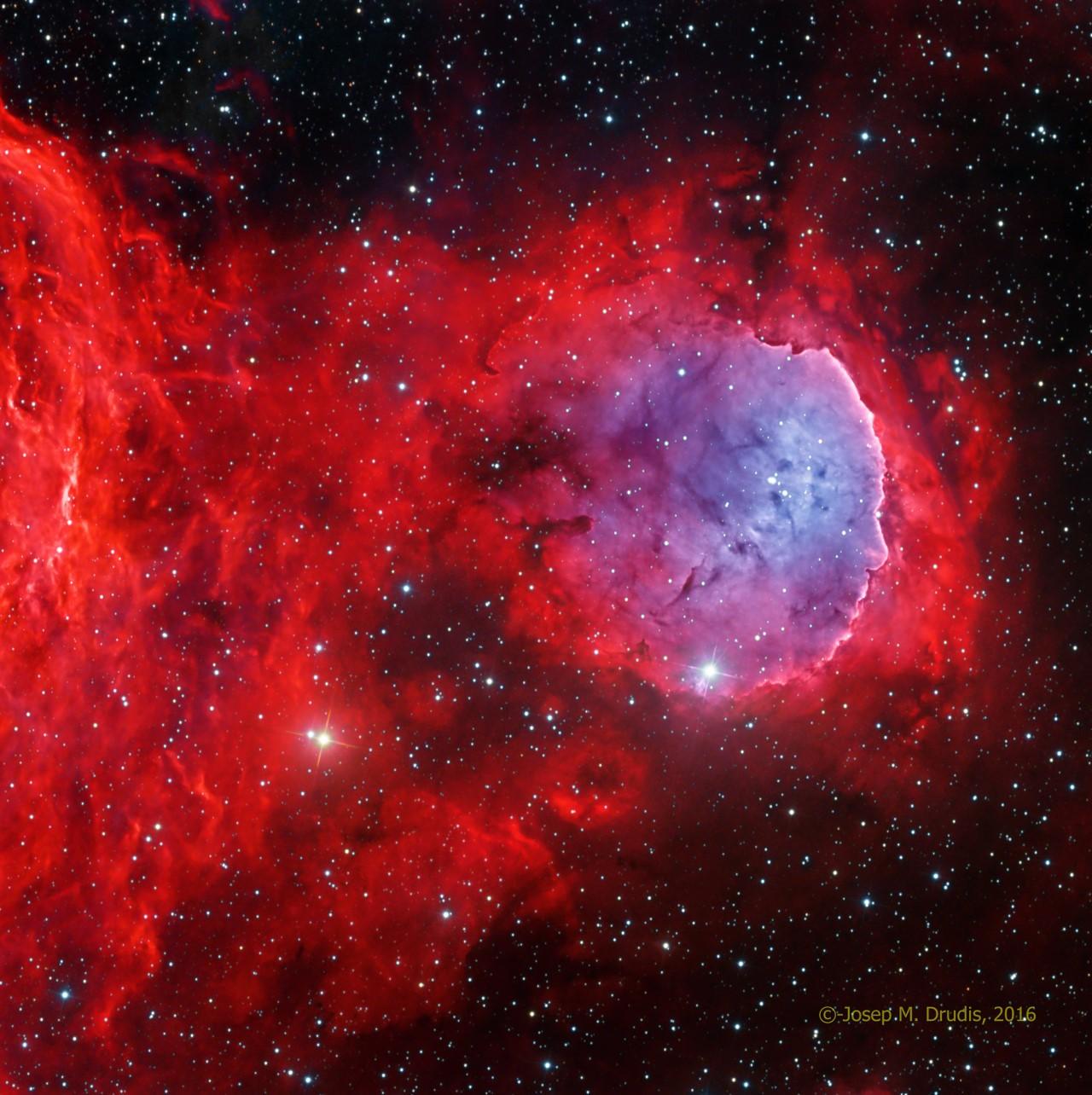 Copy of NGC 3324 / ITelescope