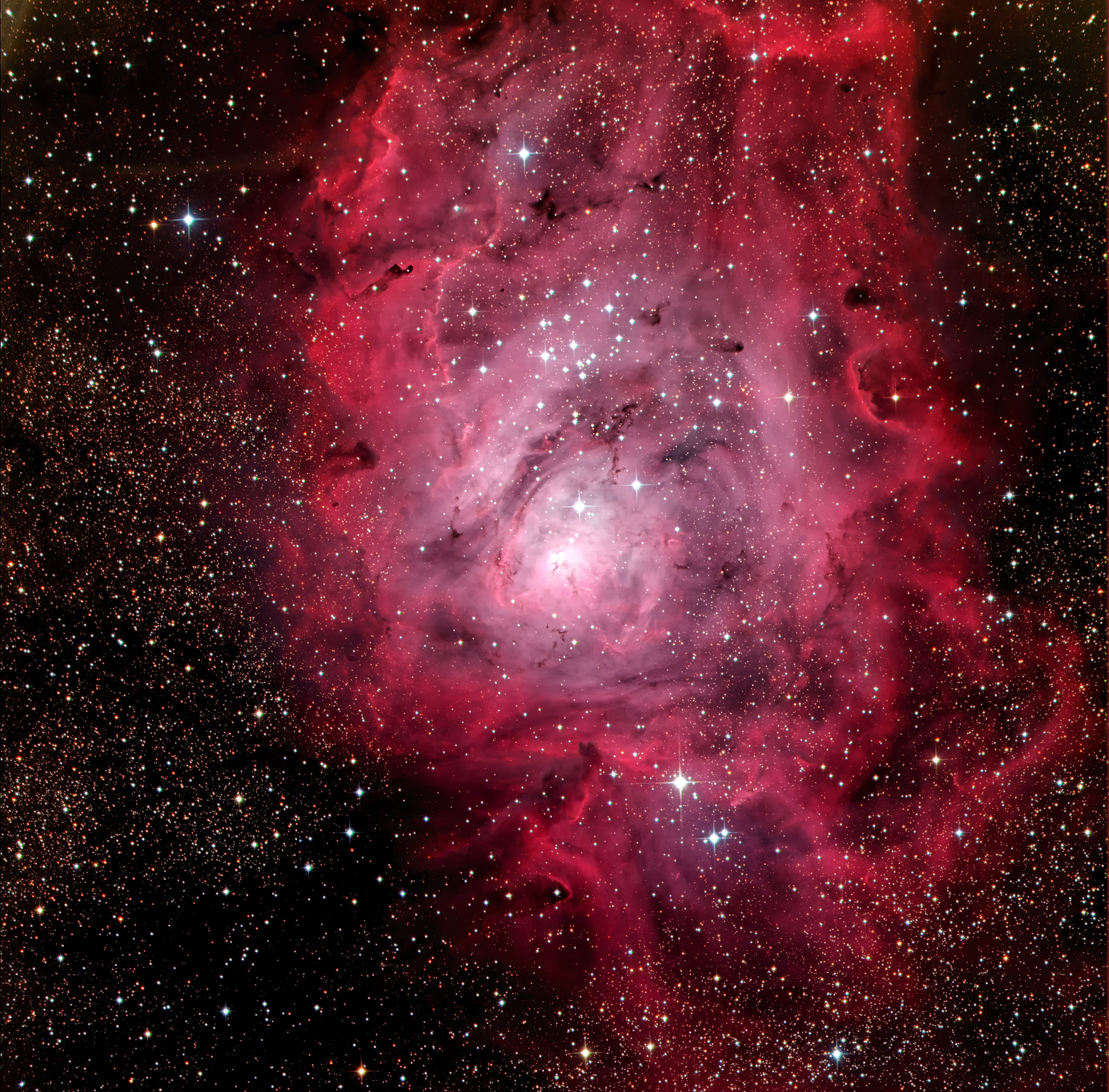Copy of Lagoon Nebula / ITelescope