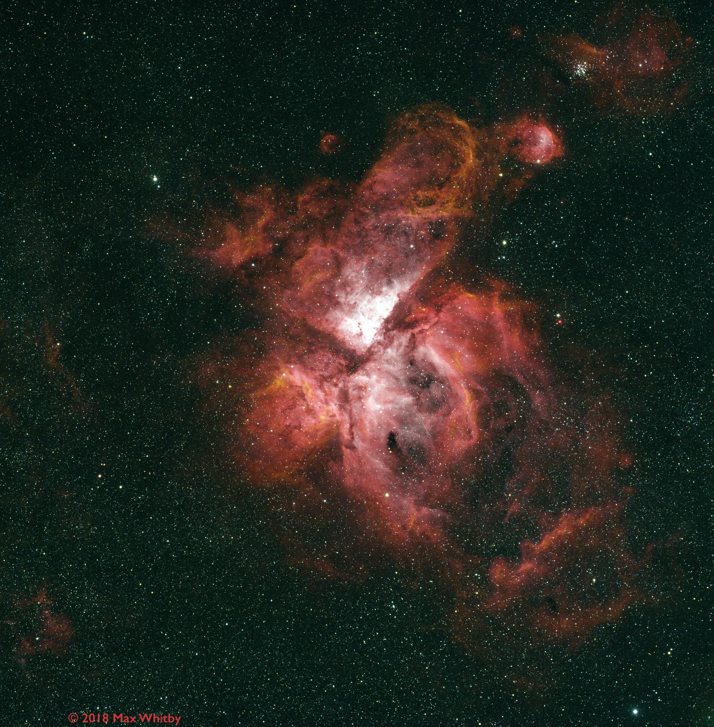 eta carina nebula  20180526 HaOIIISII v4.jpg