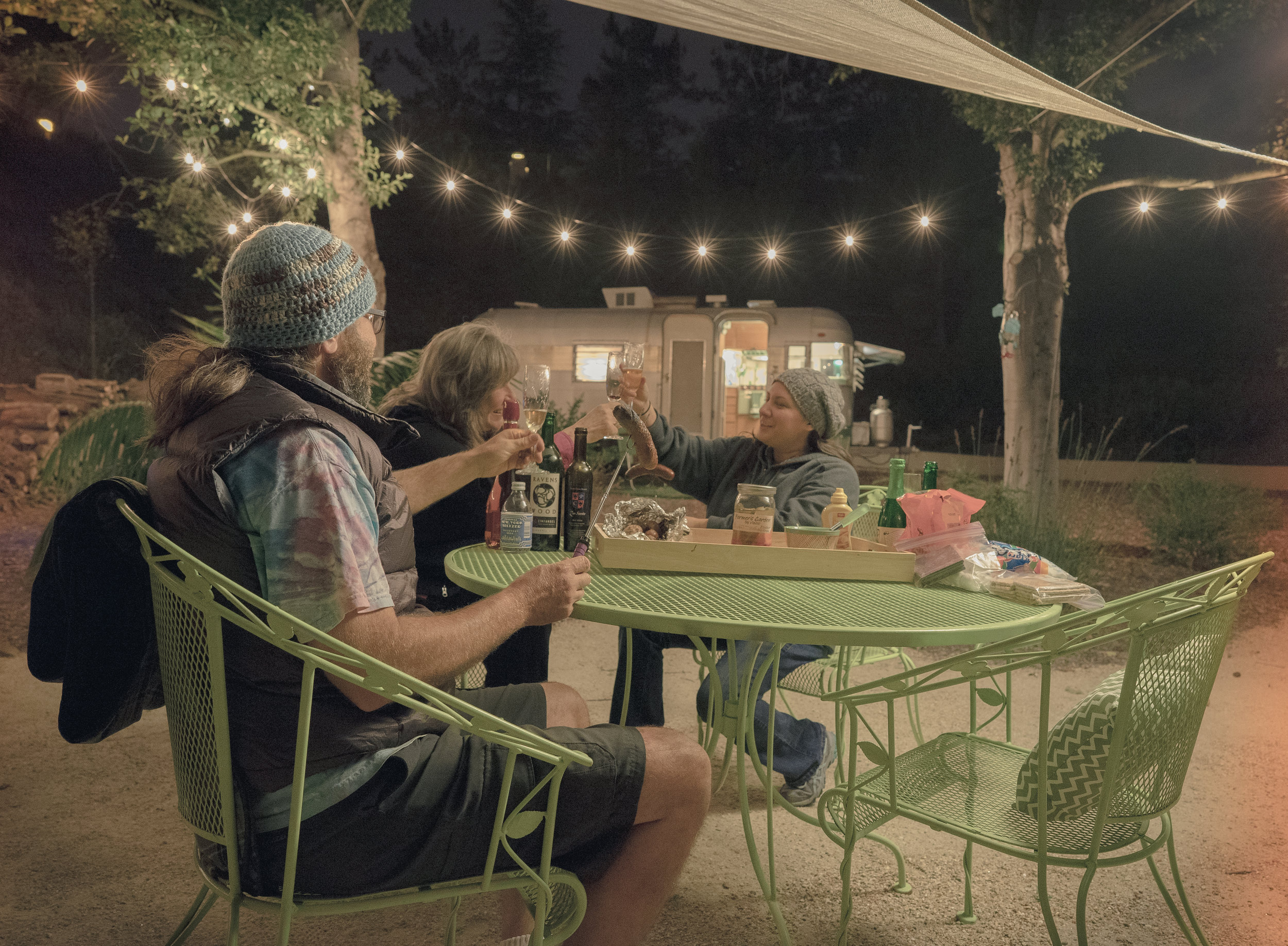 Discover The Magic Of Camping Under The Stars In A Vintage Trailer!