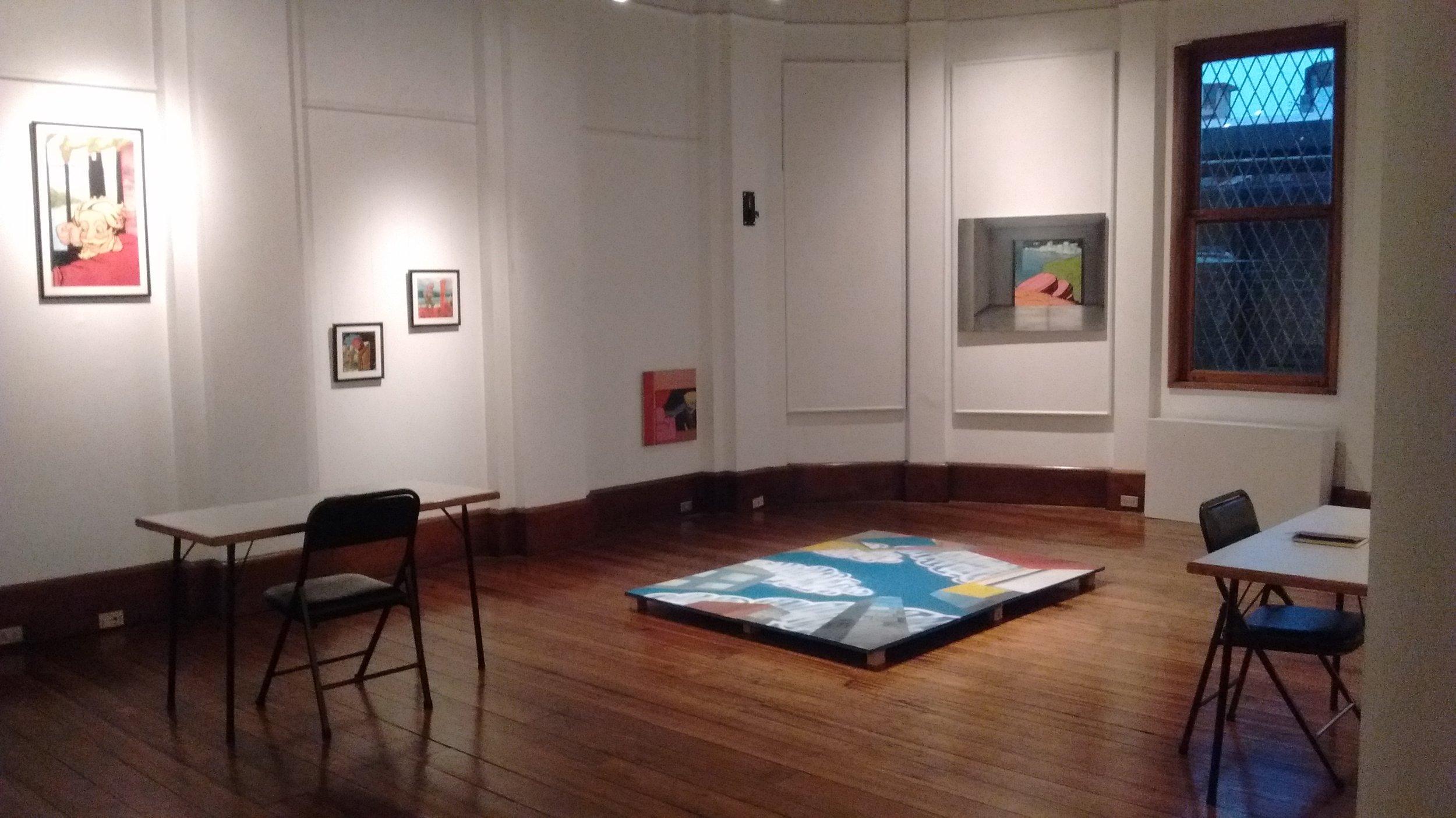 Exposición  Posibilidades de Aleph , Alianza Fracncesa, San José, Costa Rica. 2016.