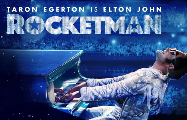Taron Egerton transforms into Elton John and it's wild.