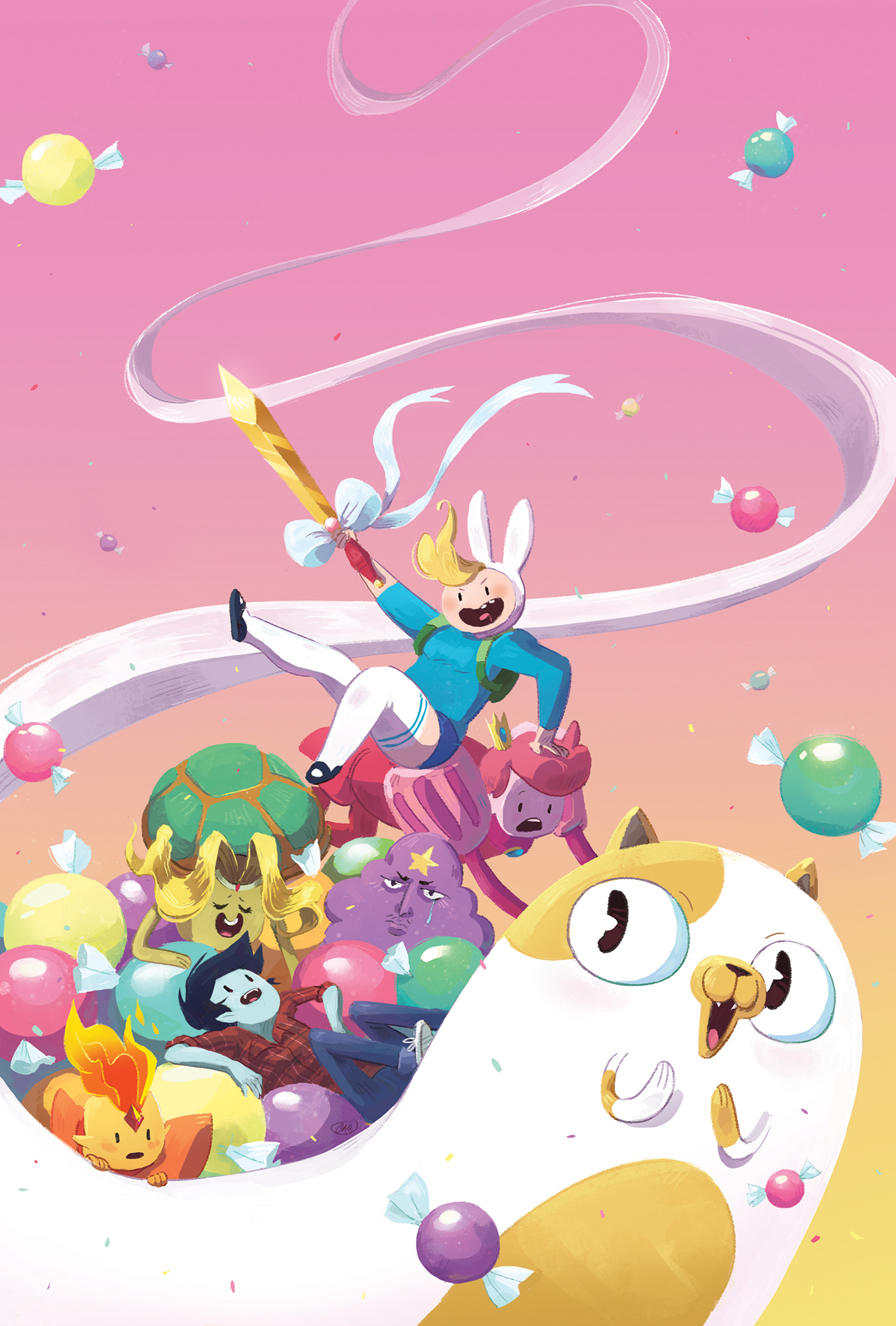 Fionna and Cake: Party Bash Blues Cover