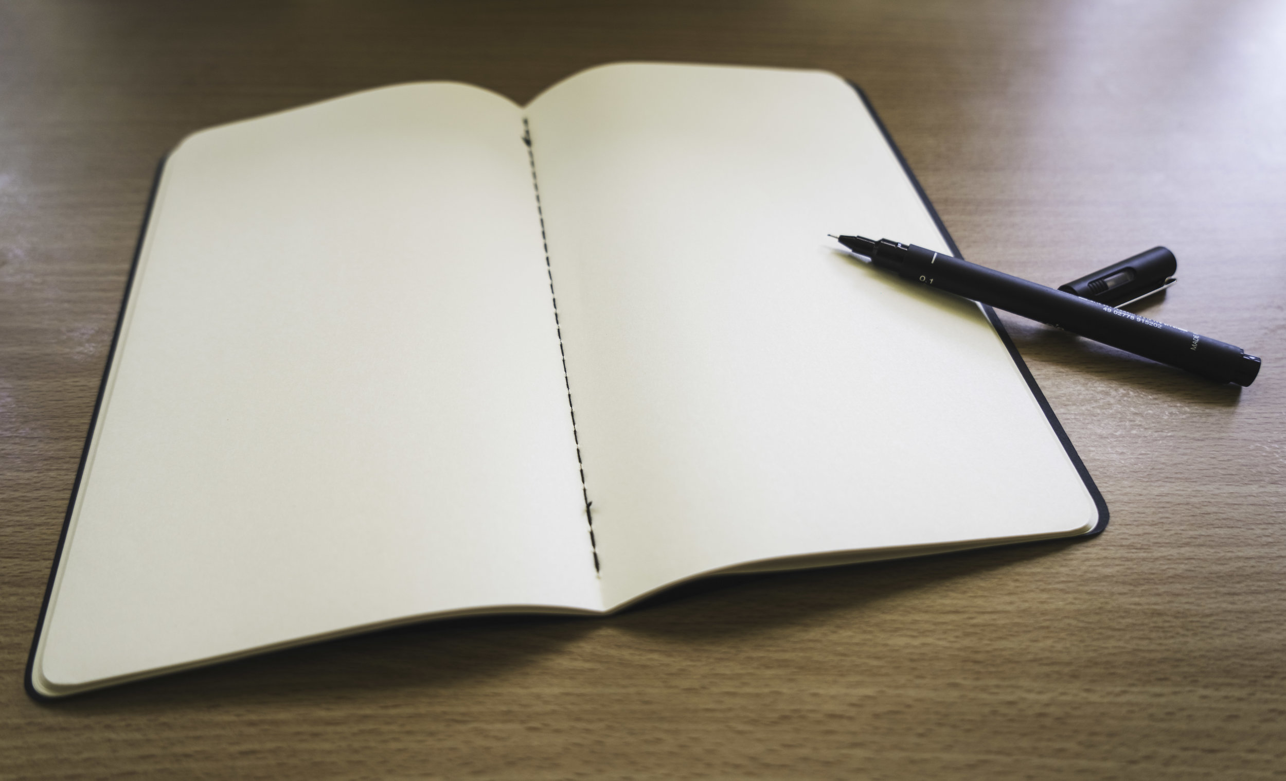 No need to draw a watermark, keep the pages blank for another day.