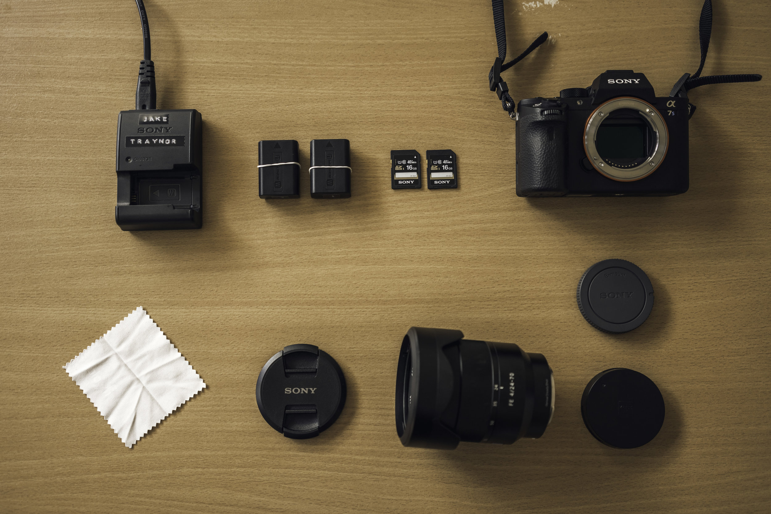 """The """"evolution"""" of the camera. Make sure you have everything you need."""