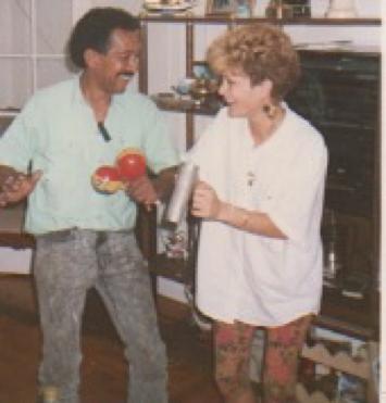 Mom & Dad's Cousin - 1989