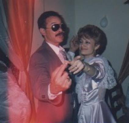 Mom & my Godfather - 1987