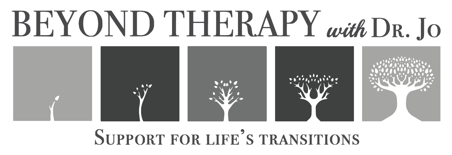 Logo Design (Grayscale) for  Beyond Therapy with Dr. Jo