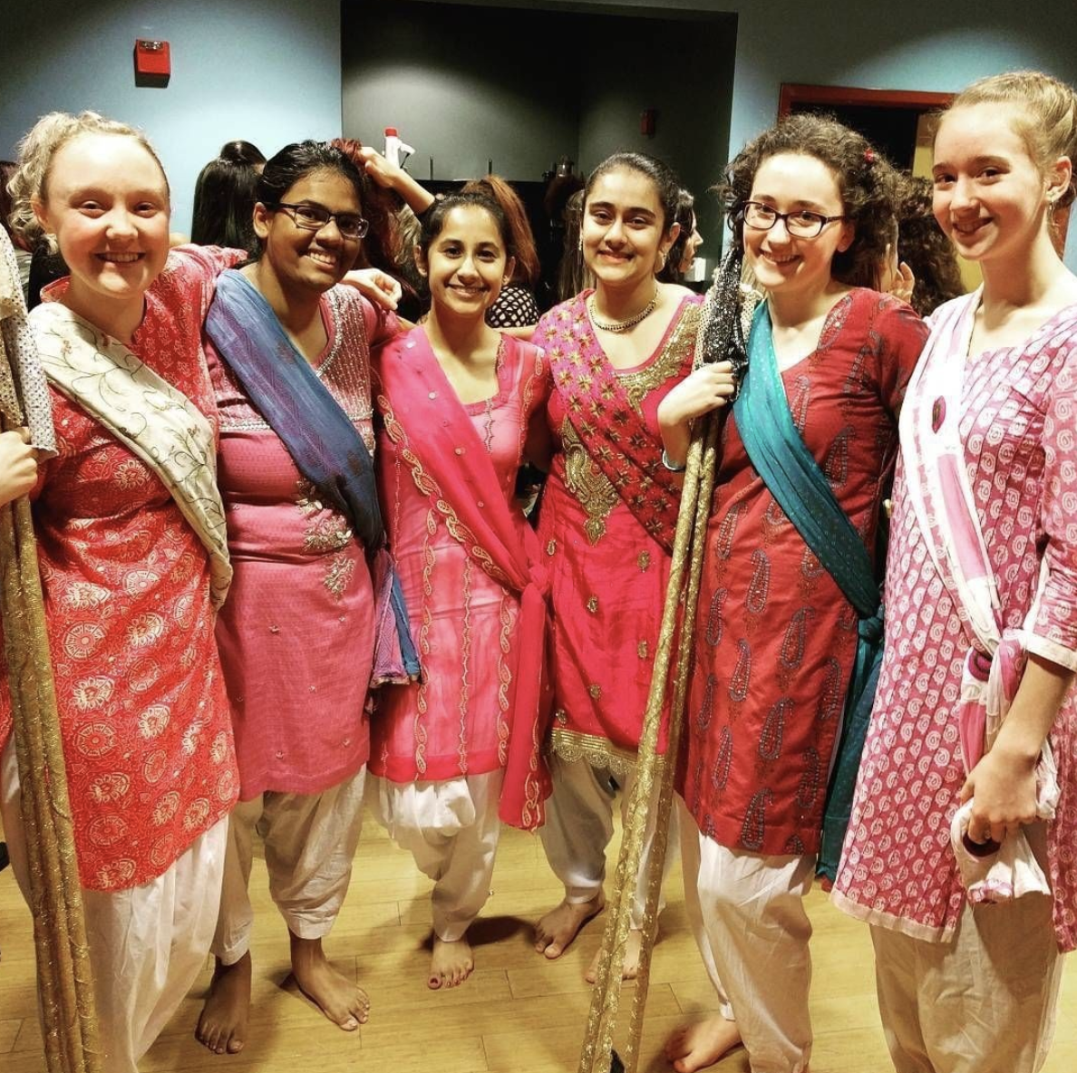 #womenrockwednesday   To increase traffic and engagement on social pages, I connected with and featured many of the amazing female-identifying performers, musicians, artists, and activists in the MEPAA community with #womenrockwednesday weekly posts.   Pictured is the female leadership team of  Eugene Bhangra