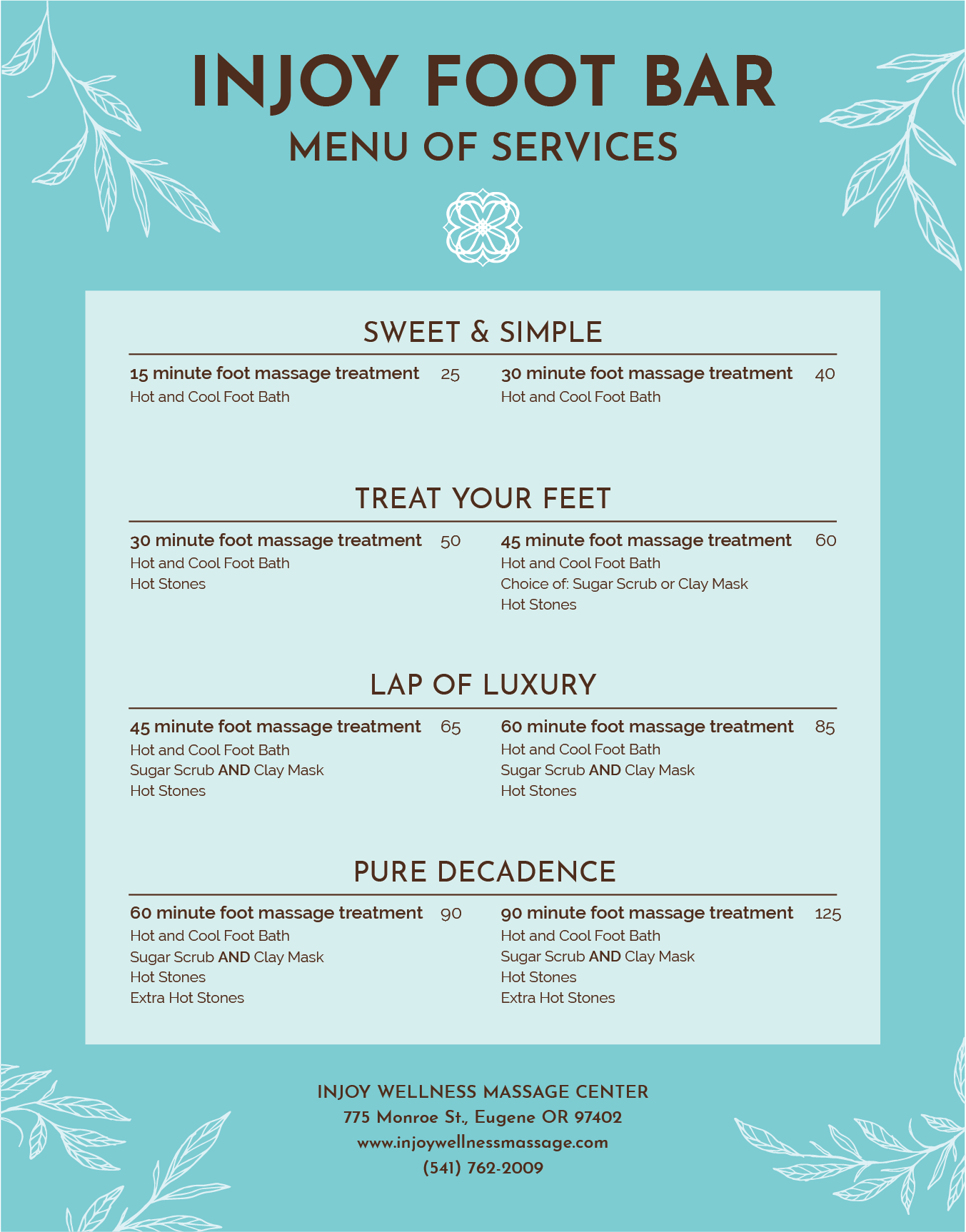 InJoy Wellness Foot Bar Menu - botanical.png
