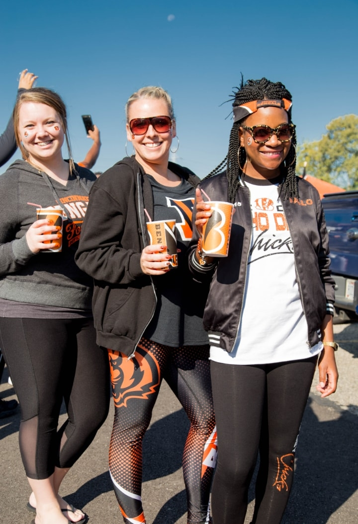 "Who Dey Chicks ""Kimberly, Heather & Fallon""  Photo by  Jasmine Lawrence"