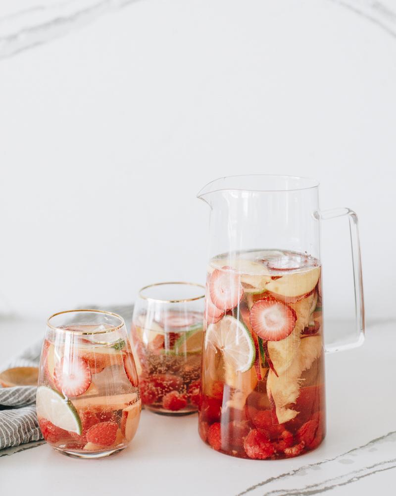 2. Rosé Sangria - via Wit & Delight