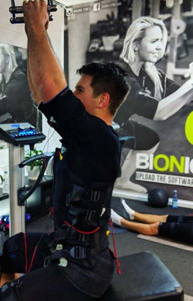 Why Bionic Fitness? - + Fat loss+ Decrease cellulite+ Time efficient+ Relive back pain+ Increase athletic performance. (Speed, strength, endurance, power)+ Time efficient. 25 minute workouts (Max 2 sessions a week)+ Fix muscular imbalances+ No strain on joints or ligaments+Injury recovery / rehabilitation+ Increase pelvic floor strength+ Increase deep stabilising core muscles.