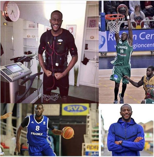 Nobel Boungou-colo - Basketball