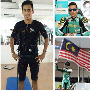 Hadiz Syarin - Petronas Moto2 Rider