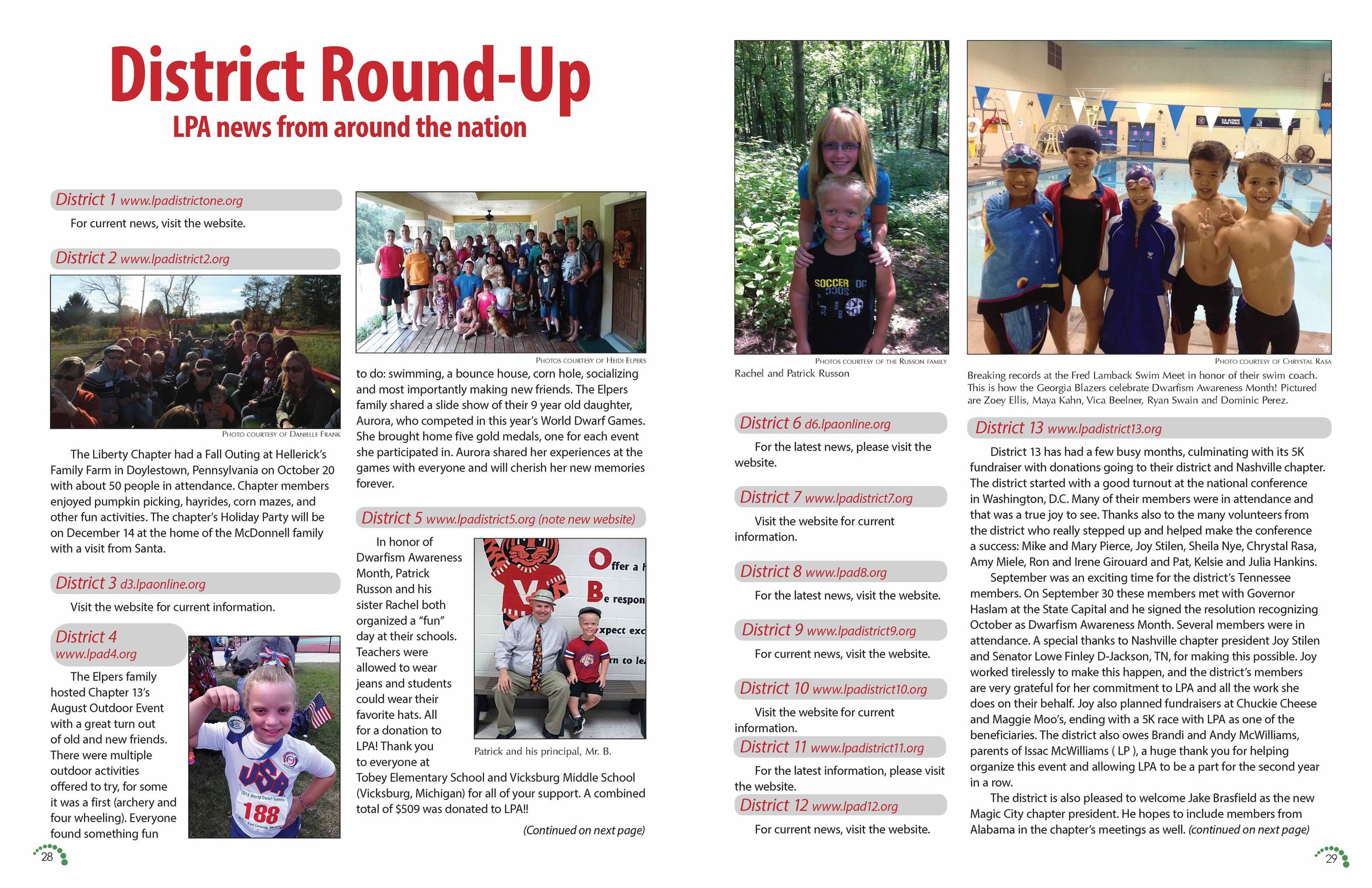 LPA Today Magazine  Pages 28 and 29, Volume 44 Issue 2
