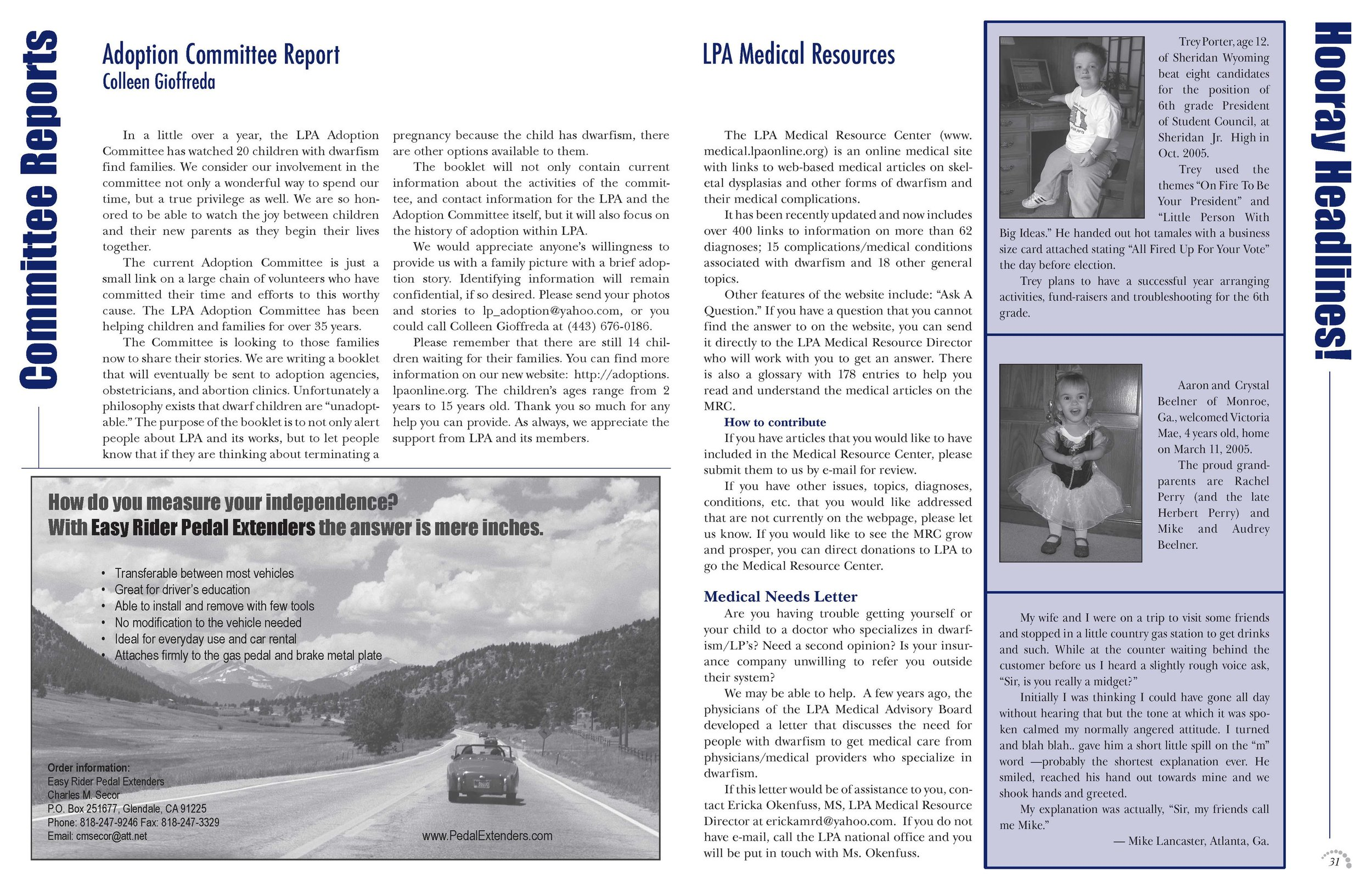 LPA Today Magazine  Pages 30 and 31, Volume 39 Issue 3
