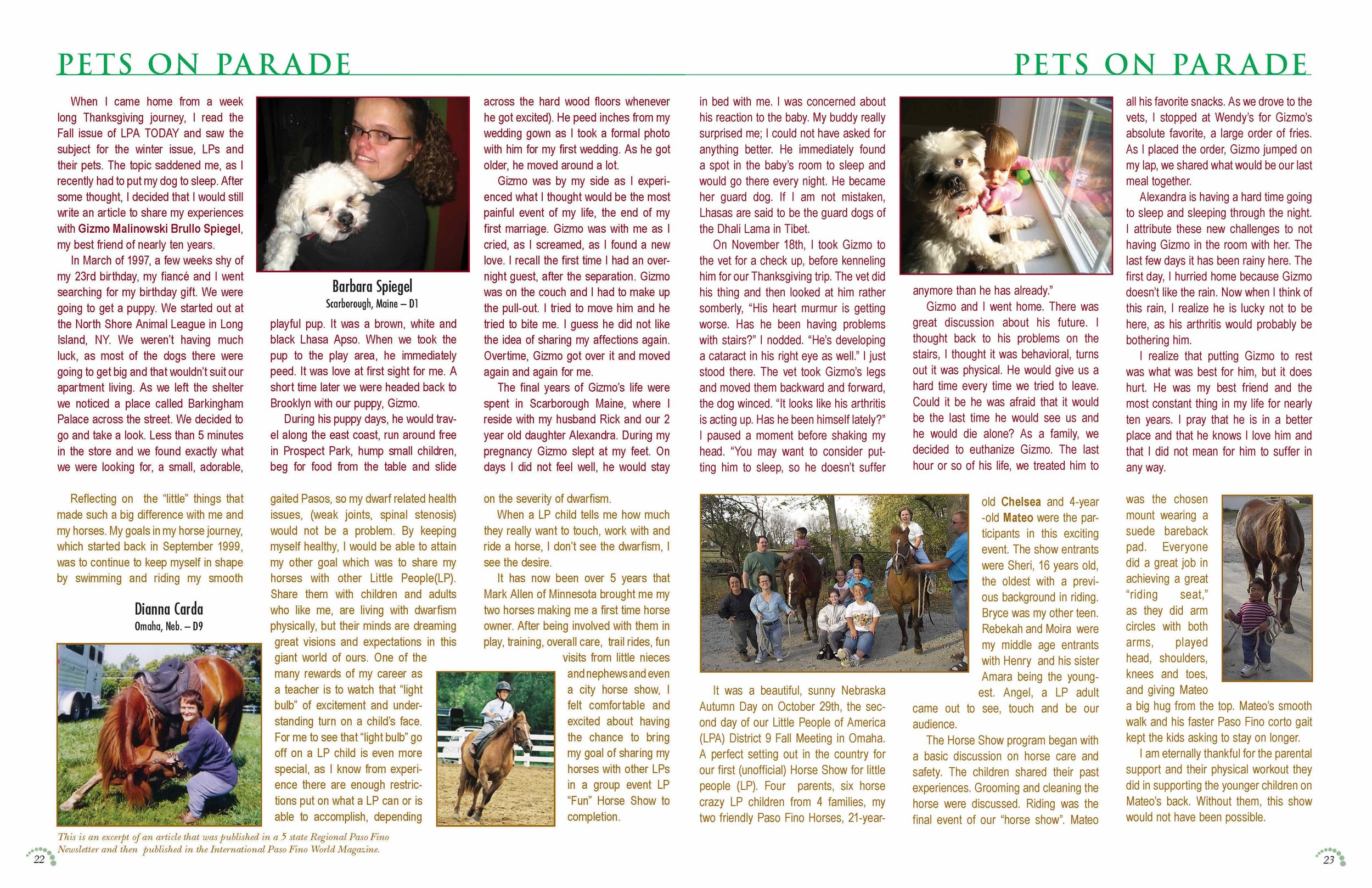 LPA Today Magazine  Pages 22 and 23, Volume 42 Issue 3
