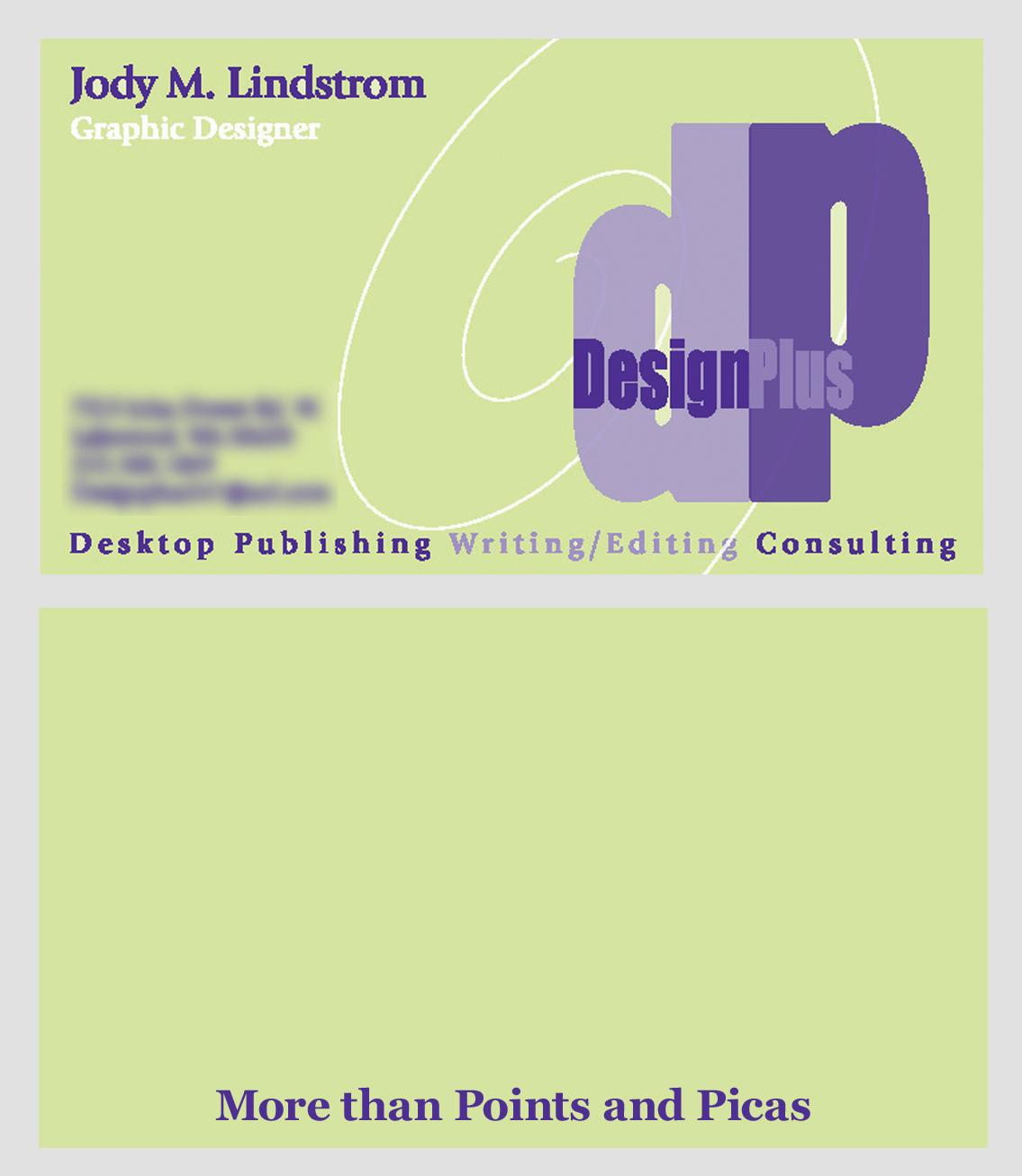Design Plus Business Card