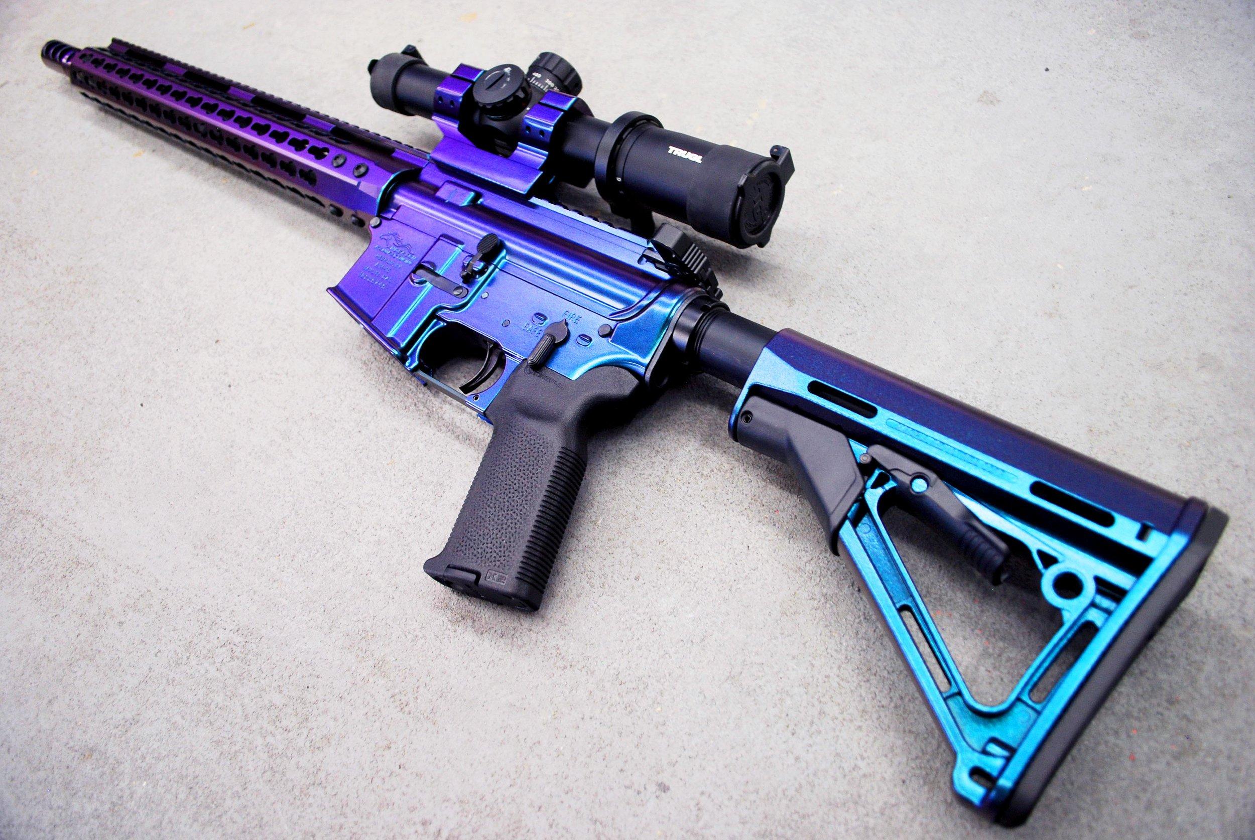 Gun Coating Newman Arms Vegas