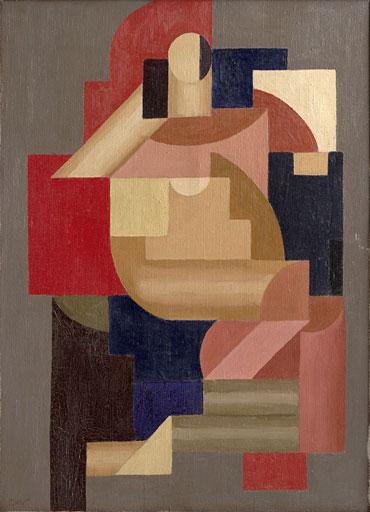 Komposisjon med to figurer. 1925