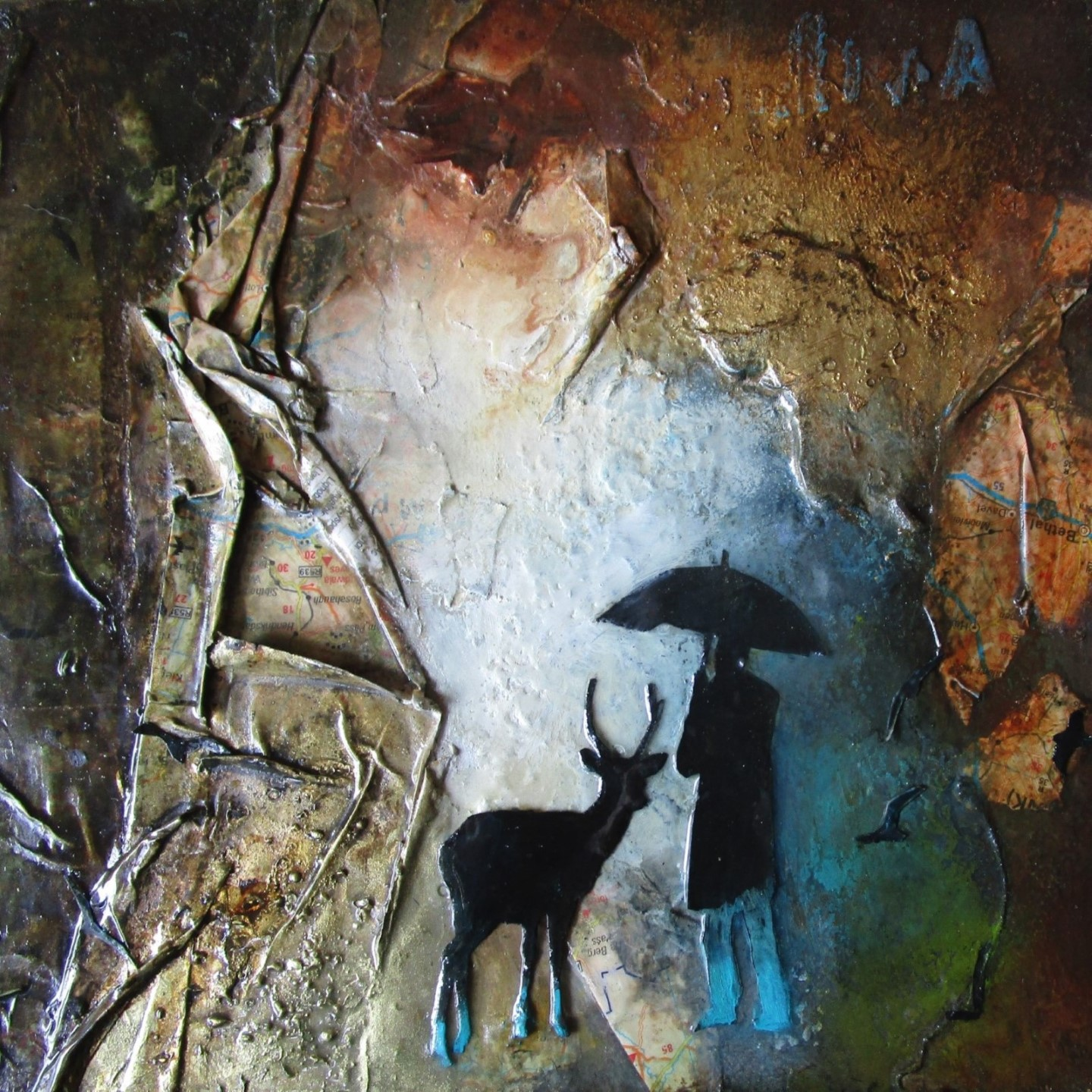 Waiting Together - Mixed Media on Board - 20x20cm - Aity 5.JPG