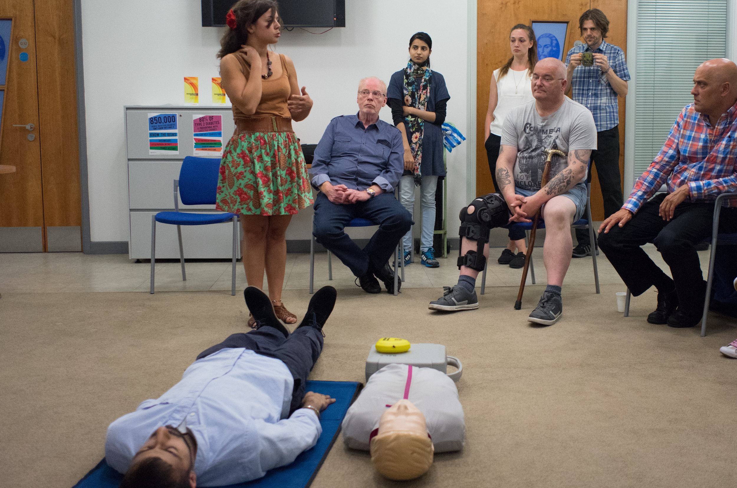 AUTOMATED EXTERNAL DEFIBRILLATOR TRAINING -