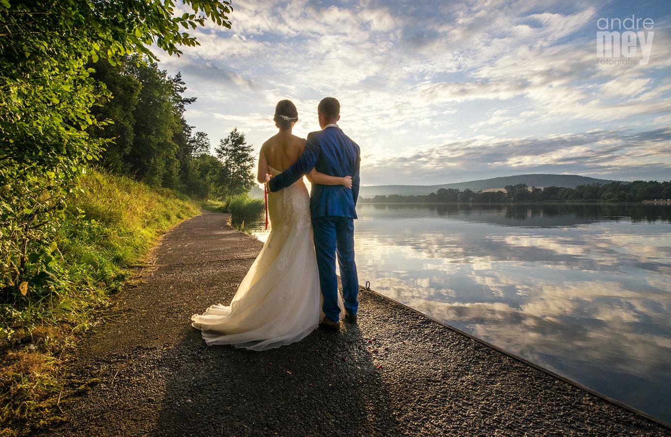 Hochzeit 2015 am Stausee Hohenfelden