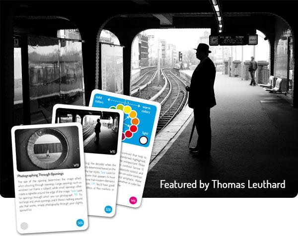 Copyright: www.biggerpicture.cards Die bigger picture Karten (Kartenset und App) beinhalten Wissens- und Lernaufgaben aus verschiedenen Bereichen der Fotografie. Der Schwerpunkt der Aufgaben liegt im Suchen, Erkennen und Arrangieren von Motiven.