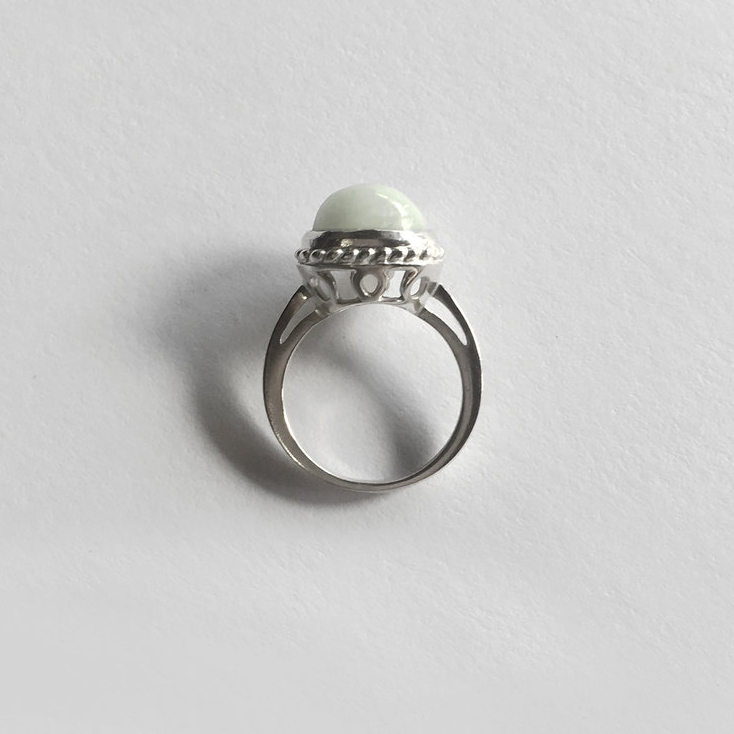 Father's Love - Jade ring