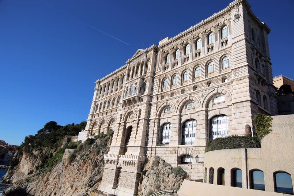 The Oceanographic Museum in Monaco.   Photo by Bex Carter