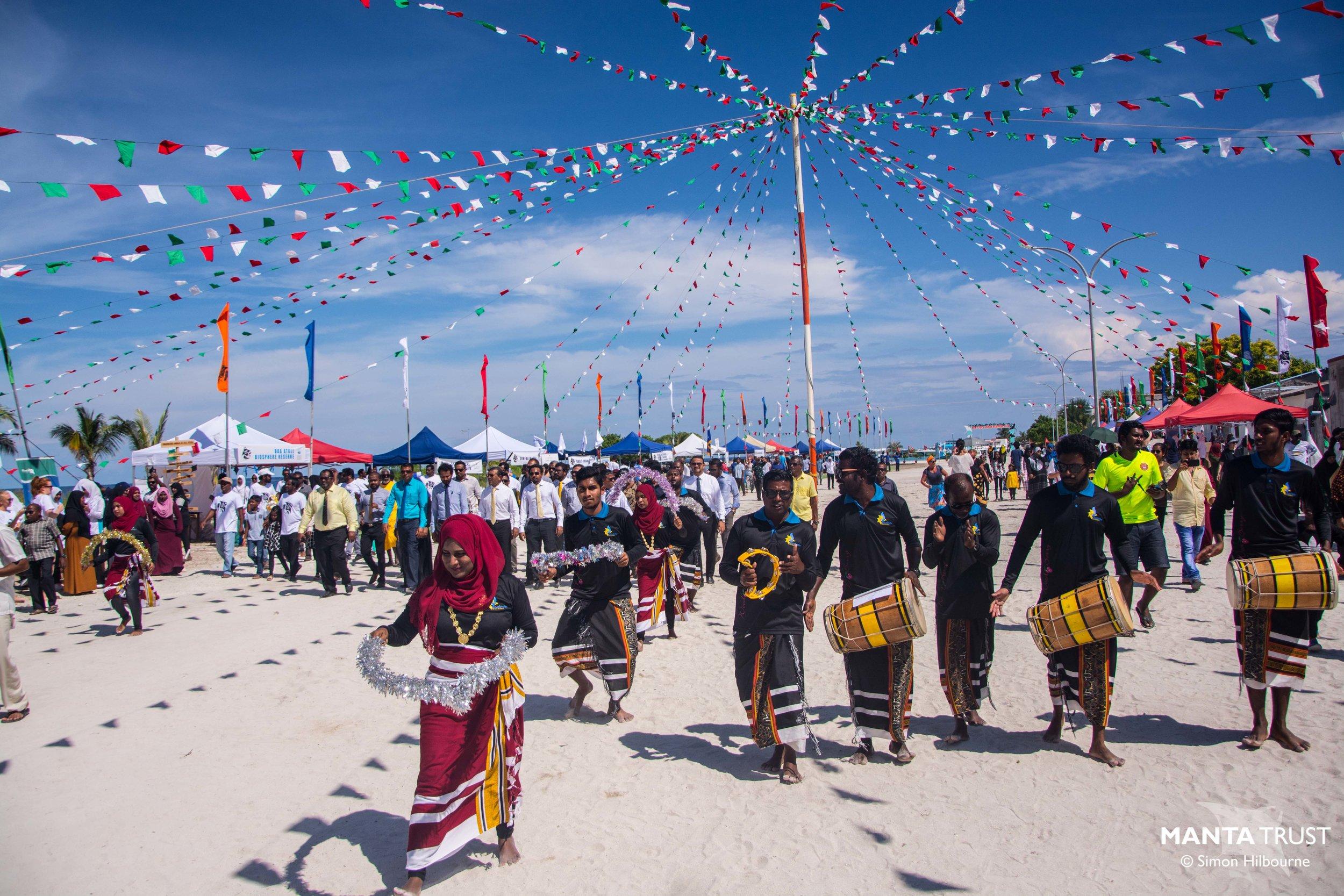 Baa Atoll Manta Fest 2018 © Simon Hilbourne