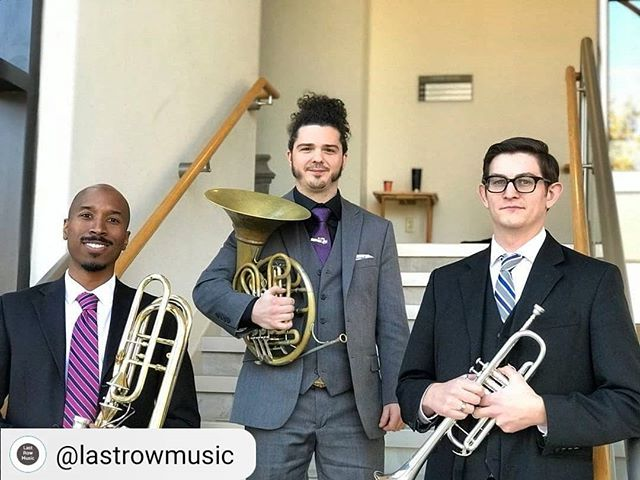 Proud to announce our website has been added to Last Row Music's definitive list of brass ensembles! Have you seen our website yet? Check out our link in our bio, then go directly to @lastrowmusic for all of your brass player needs and resources! #RepostSave @lastrowmusic with @repostsaveapp ・・・ #brasstrio #brassensemble #musician #trumpet #trombone #frenchhorn #brass