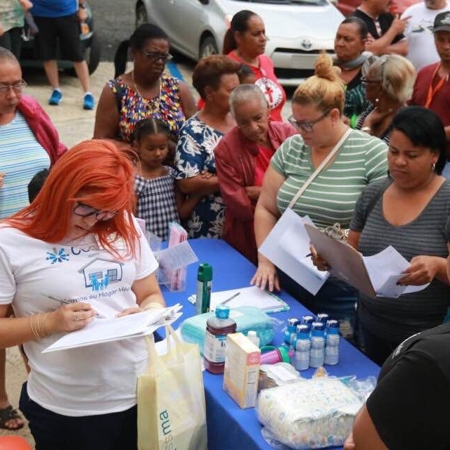Local doctors helping impacted citizens after Hurricane Maria in Puerto Rico