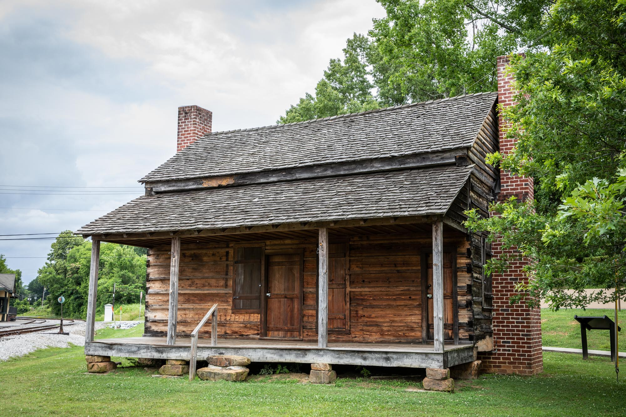 Couey House in Dowdy park.