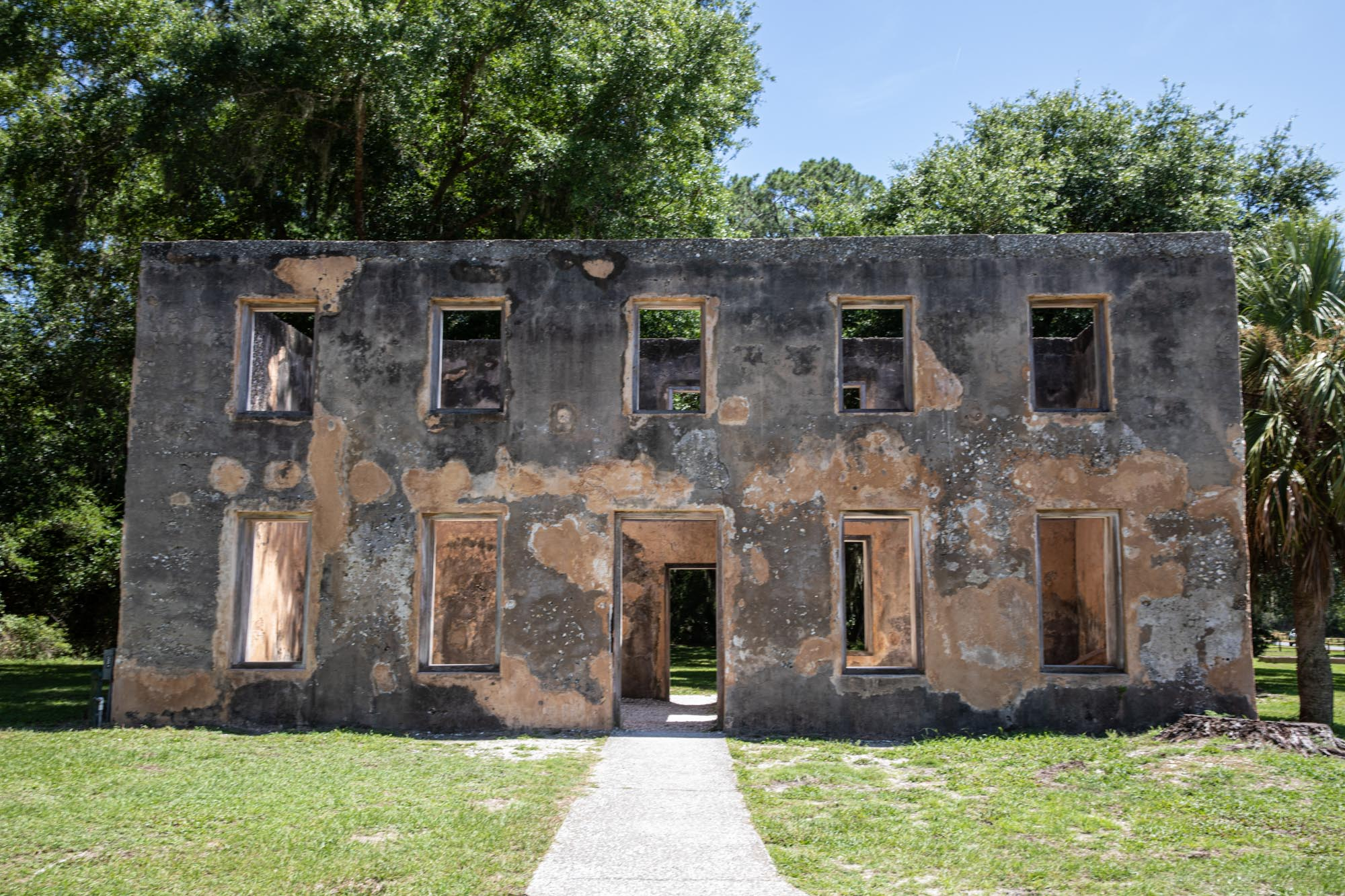 The Horton House on Jekyl Island.
