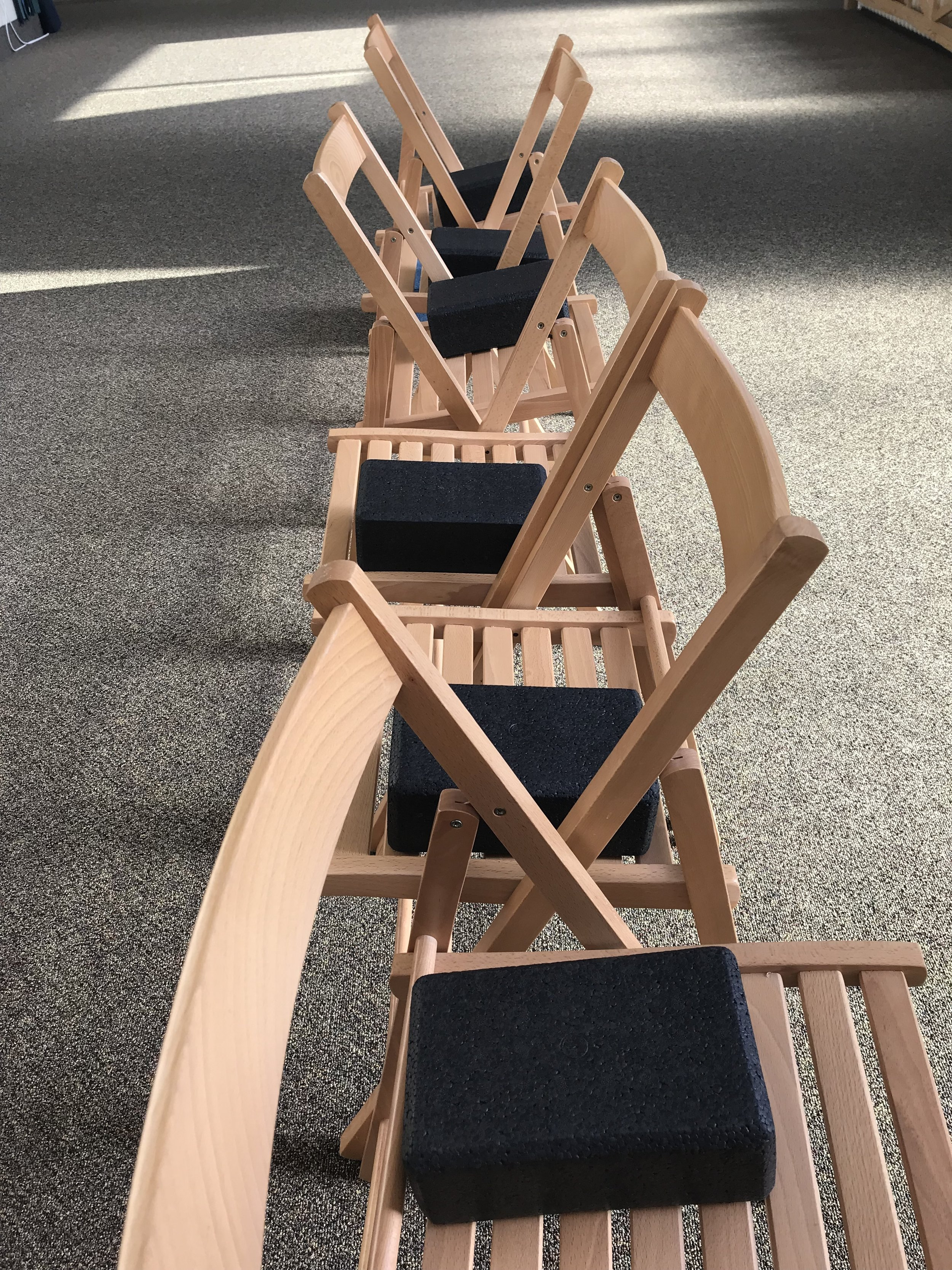 yoga chairs