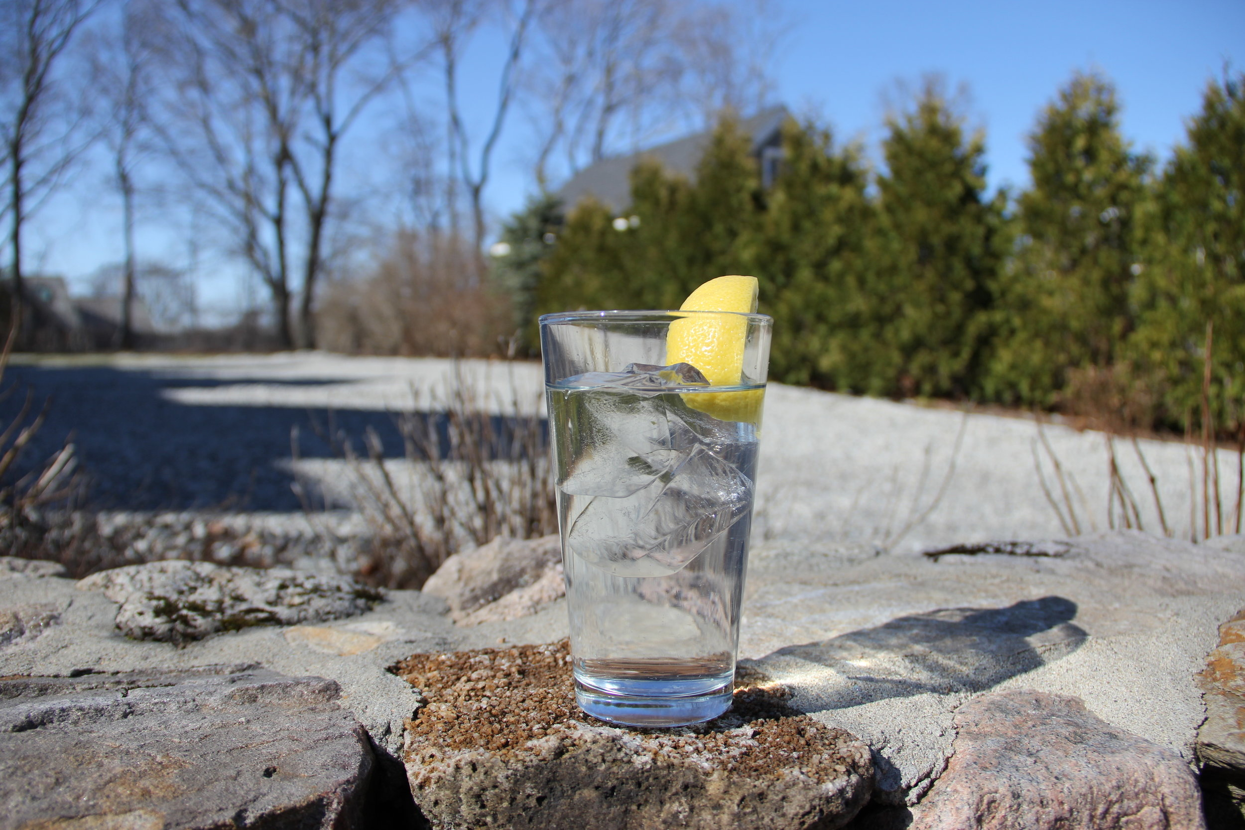 Outside Clear Glass with Lemon.JPG