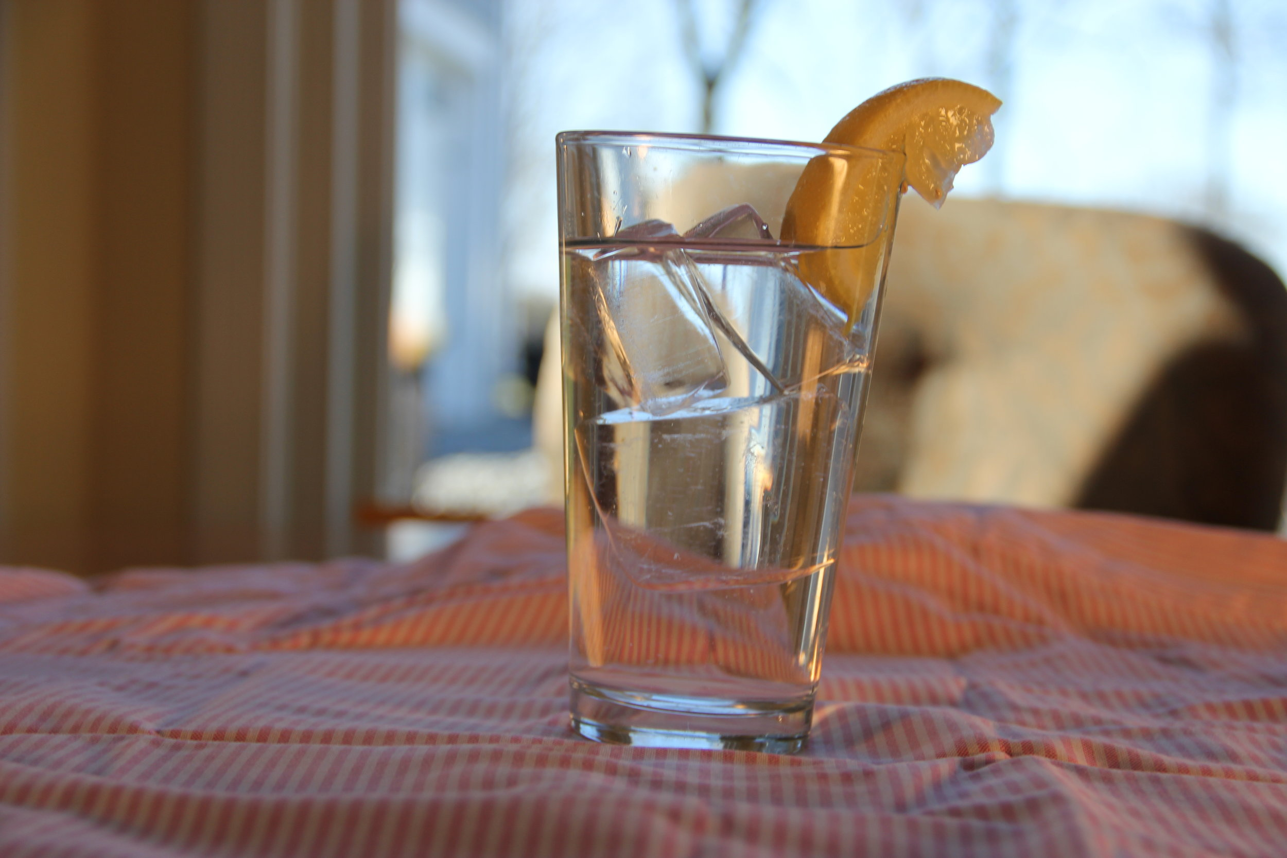 Inside Clear Glass with Lemon.JPG