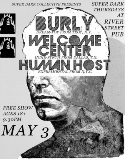 come out to the river street pub.  three bands.  zero dollars.  we will try to be dream-pop by then.  -burly