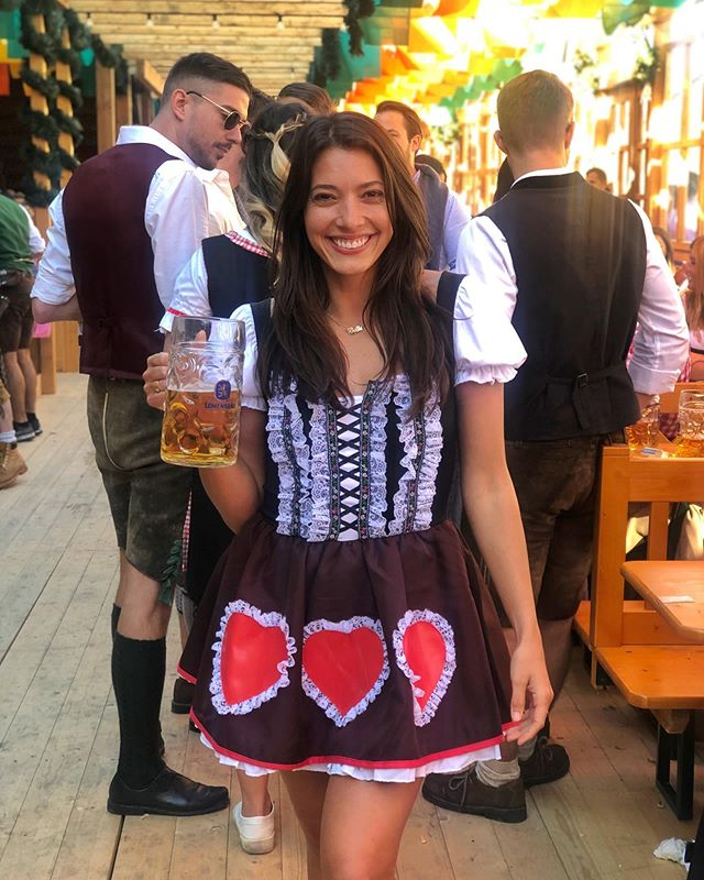 Swapped out 🍷 tasting for 🍺 tasting #oktoberfest2019