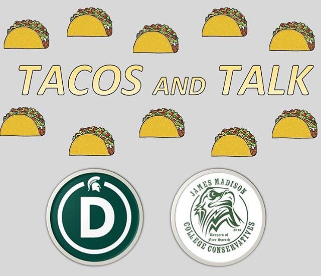See you tonight in Case Hall too@ 339 for Tacos and Talk about the Green New Deal! 💚🌮