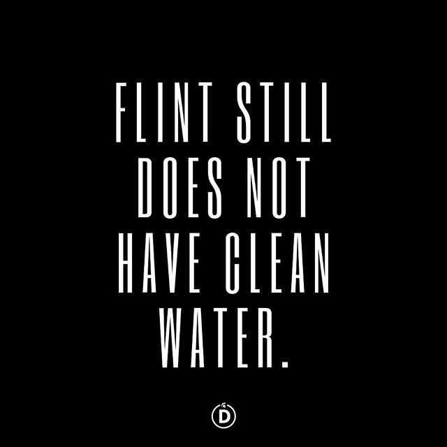 Five years. #FLINT