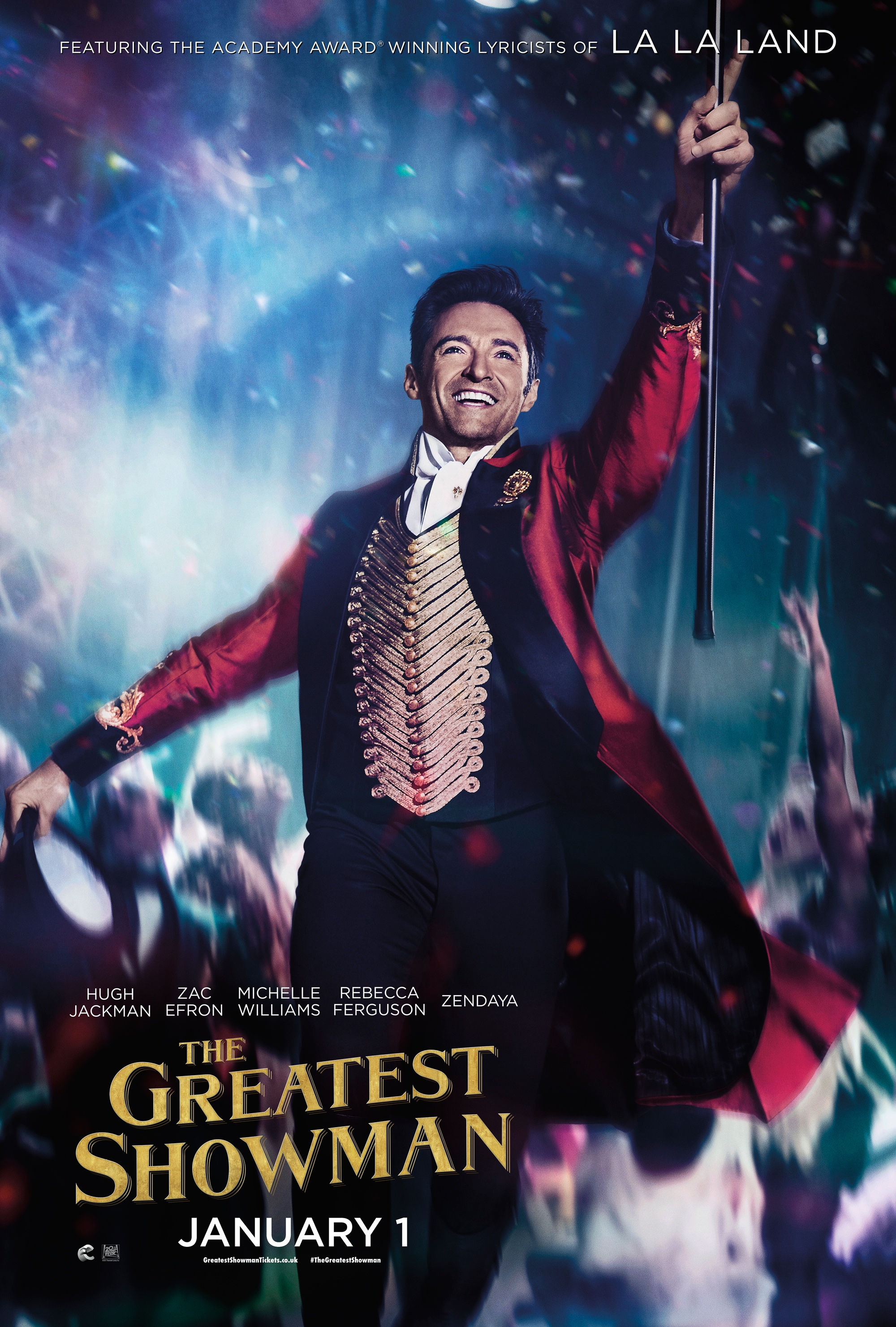 The Greatest Showman (20th Century Fox)  - VocalistWINNER 3 Golden GlobesNOMINEE Academy Award In theaters