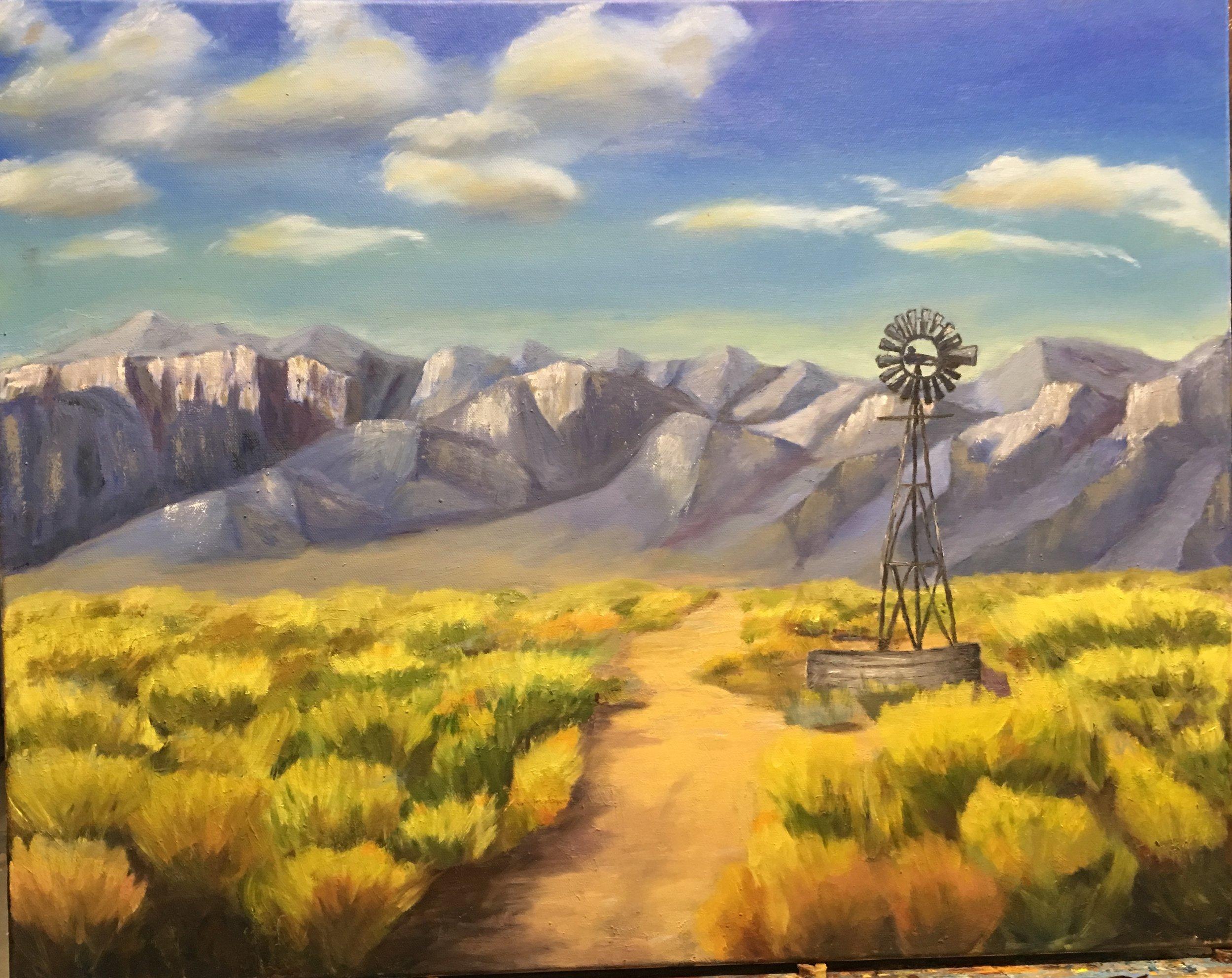 Stillwell Ranch  Oil on Canvas | 18x24 | 2017 |  SOLD